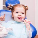 اولین ملاقات با متخصص دندانپزشکی کودکان